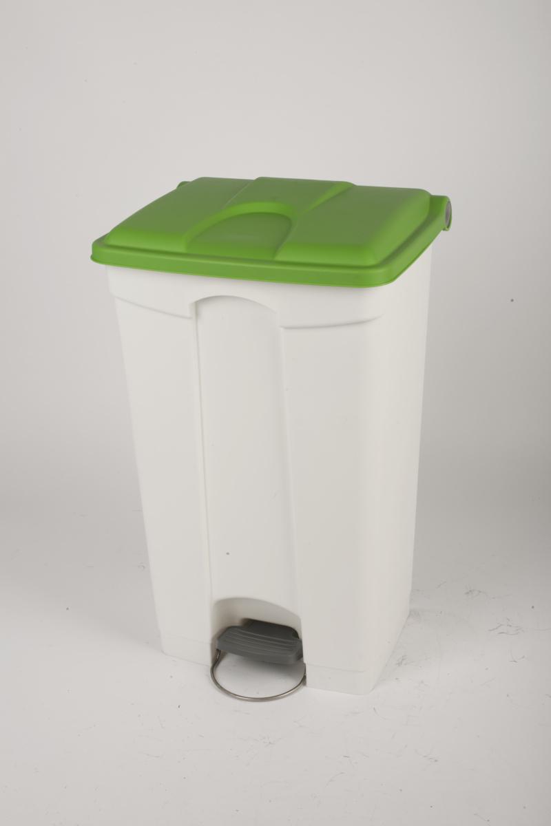Collecteur à pédale vert plastique 90 l Probbax