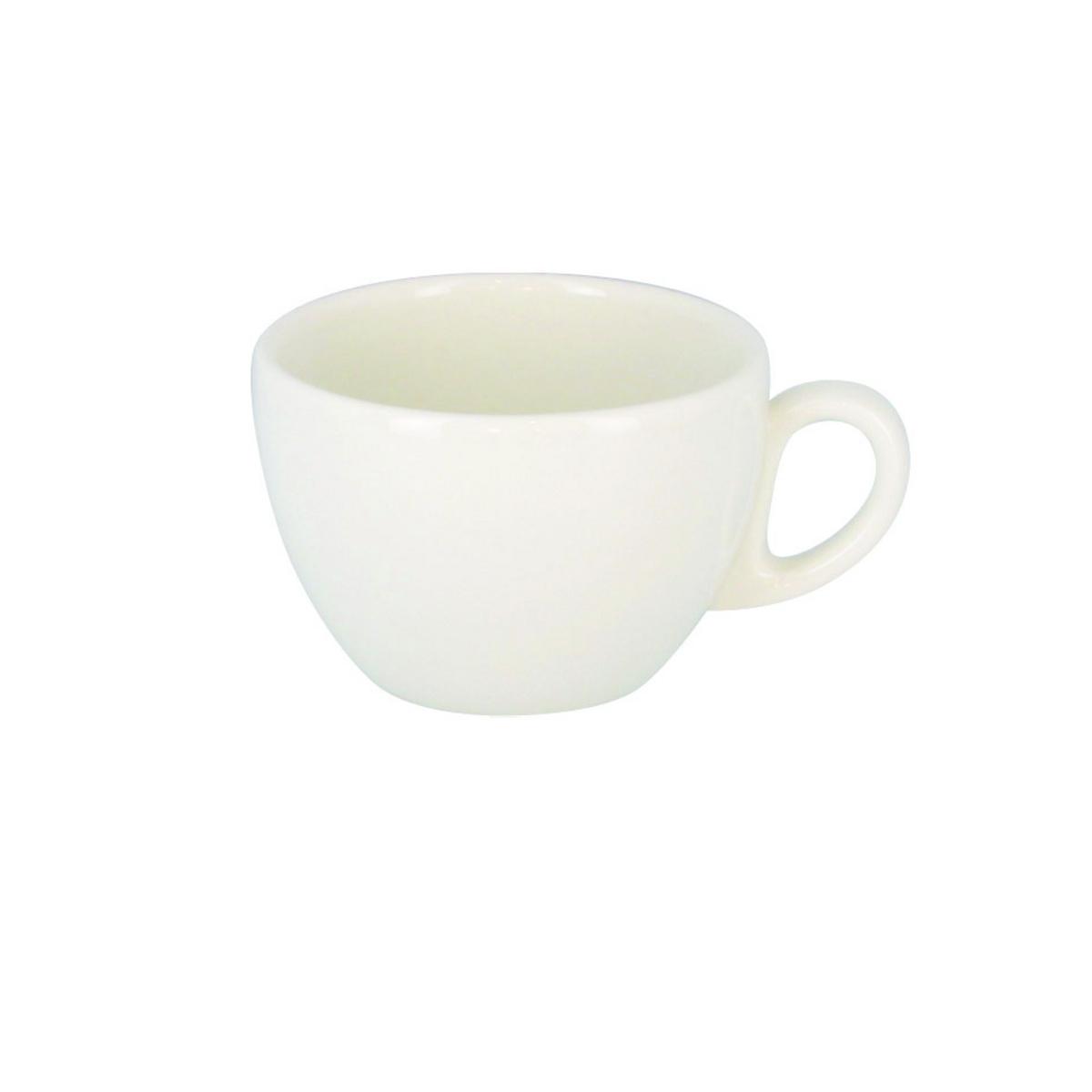Tasse à thé ronde crème porcelaine 20 cl Ø 9 cm Barista Rak