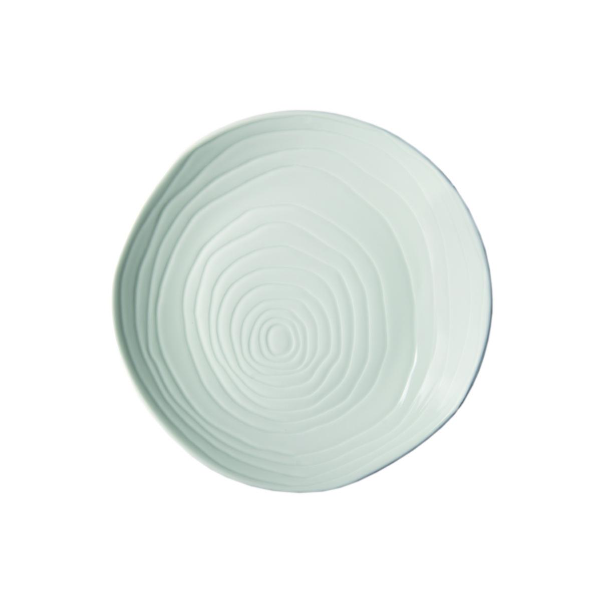 Assiette coupe plate ronde blanc porcelaine Ø 21 cm Teck Pillivuyt