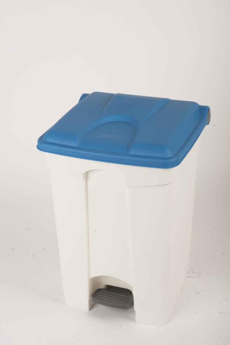 Collecteur à pédale bleu plastique 45 l Probbax