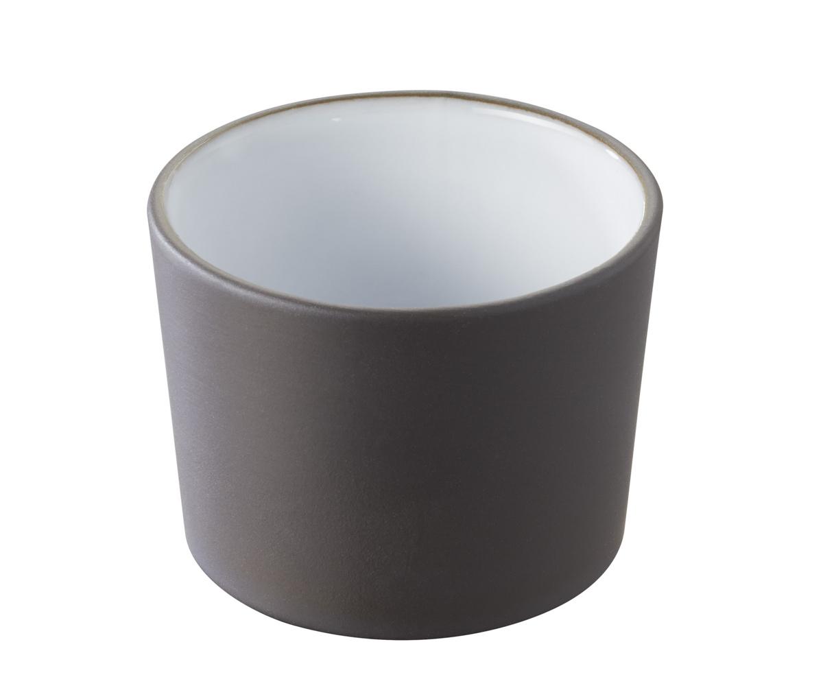 Pot à tapas rond blanc porcelaine 15 cl Ø 8 cm Solid Revol