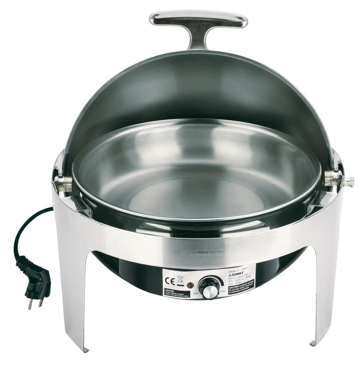 Chafing dish électrique elite rond 6,80 l