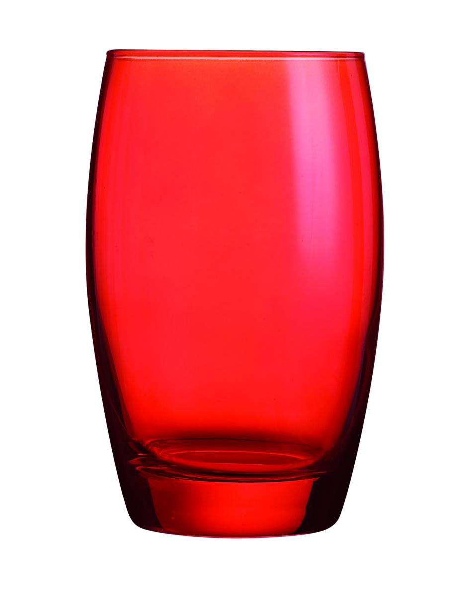 Gobelet forme haute rouge 35 cl Salto Color Studio Arcoroc