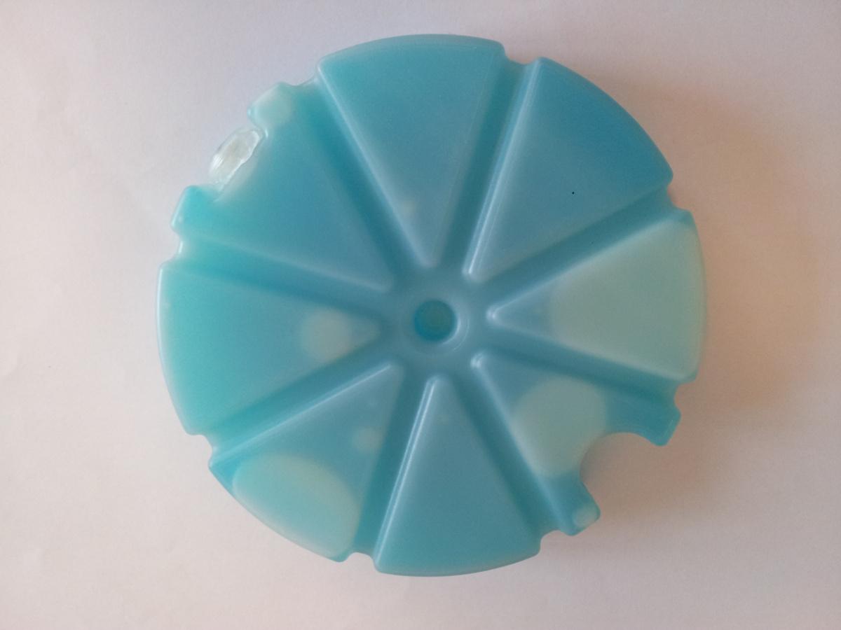 Plaque froide bleue Ø 12 cm Melform