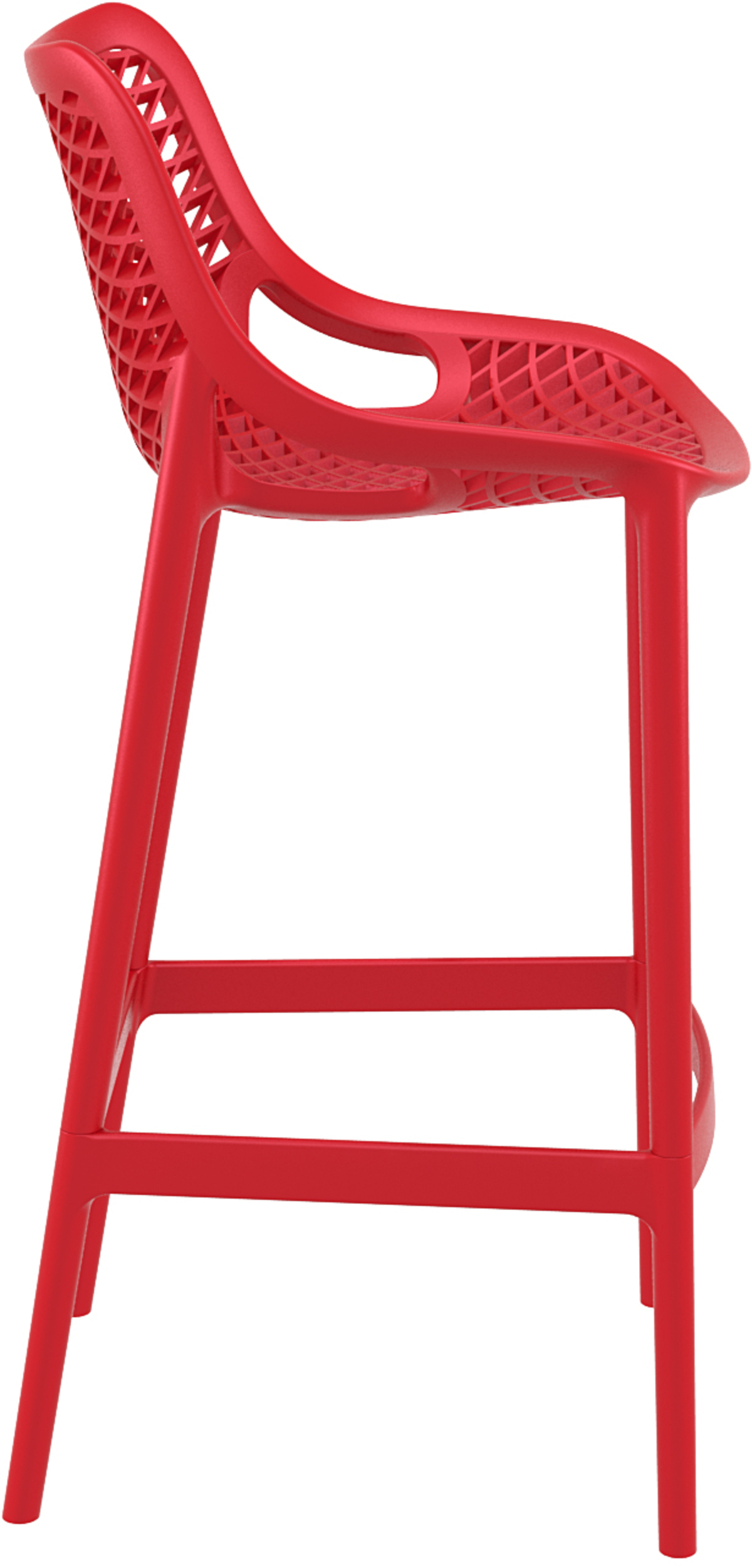 Tabouret bst rouge 45 cm Air