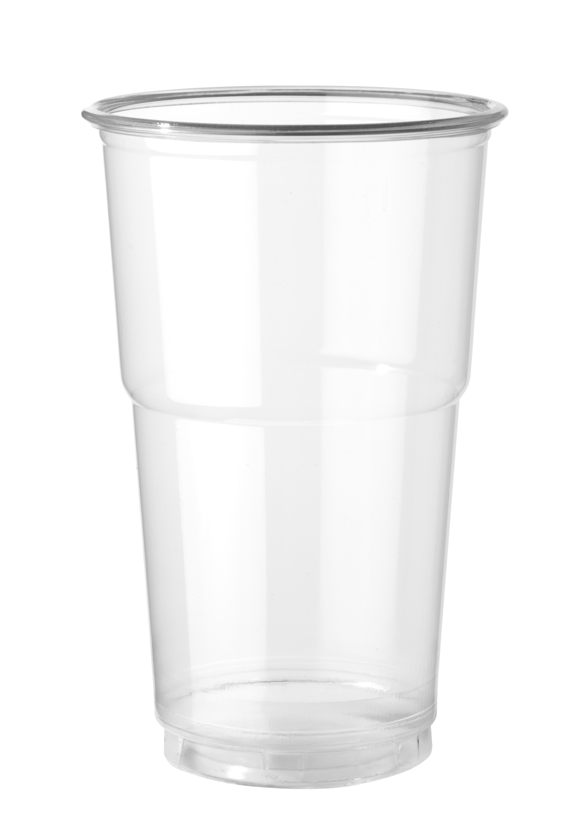 Gobelet transparent plastique 35 cl (50 pièces)