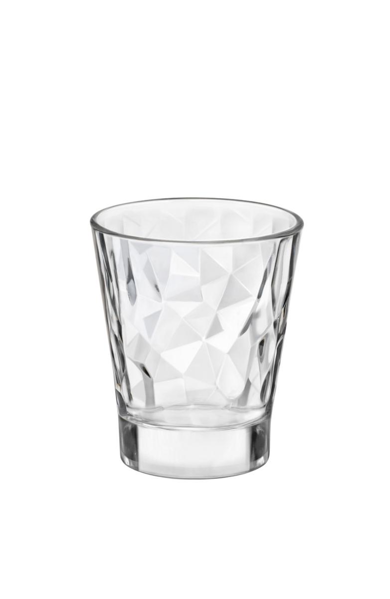 Gobelet expresso rond transparent verre 8 cl Ø 5,90 cm Diamond Bormioli Rocco