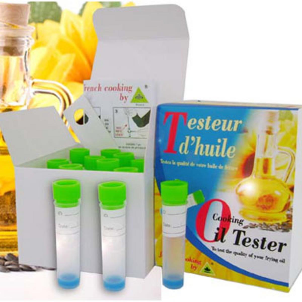 Testeur d'huile plastique (10 pièces)