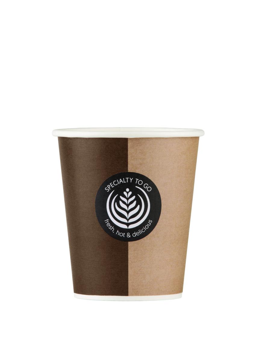 Gobelet beige carton 28 cl Hot Cup Huhtamaki (50 pièces)