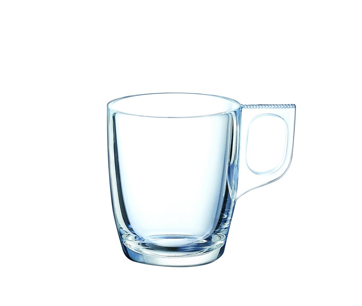 Tasse à expresso ronde transparente verre 9 cl Ø 8,40 cm Voluto Arcoroc