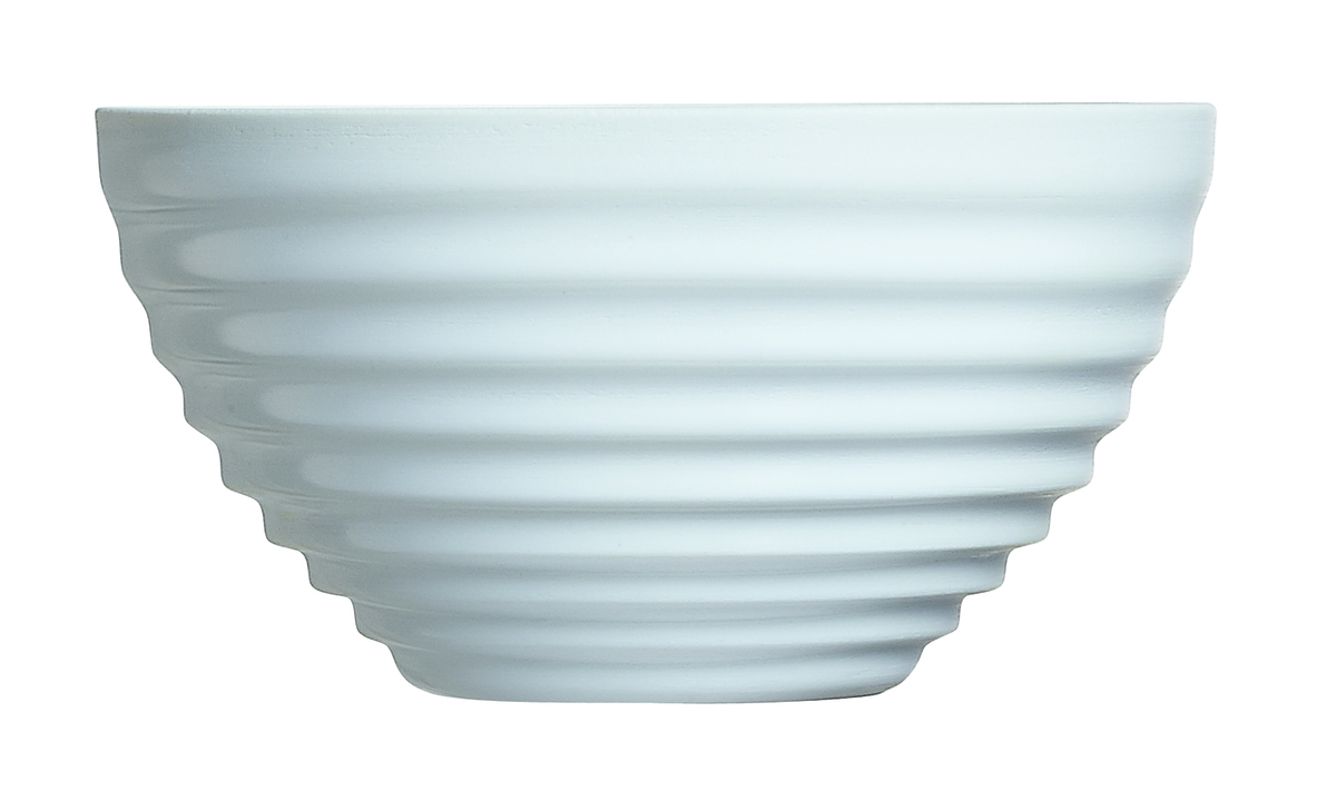 Bol empilable rond blanc verre 50 cl Stairo Arcoroc