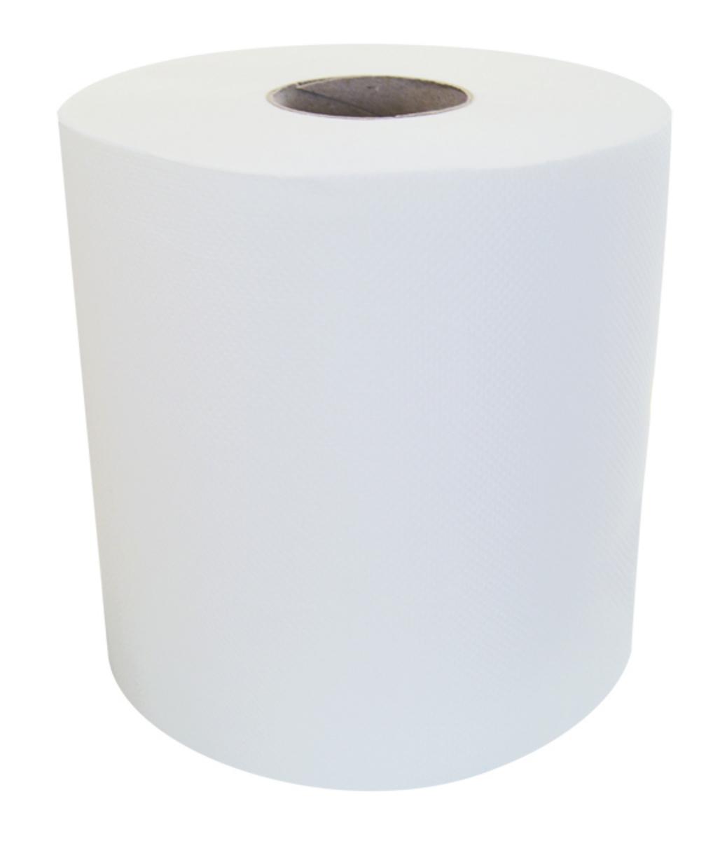 Bobine 450 format blanc ouate de cellulose 22x18,30 cm (6 pièces)