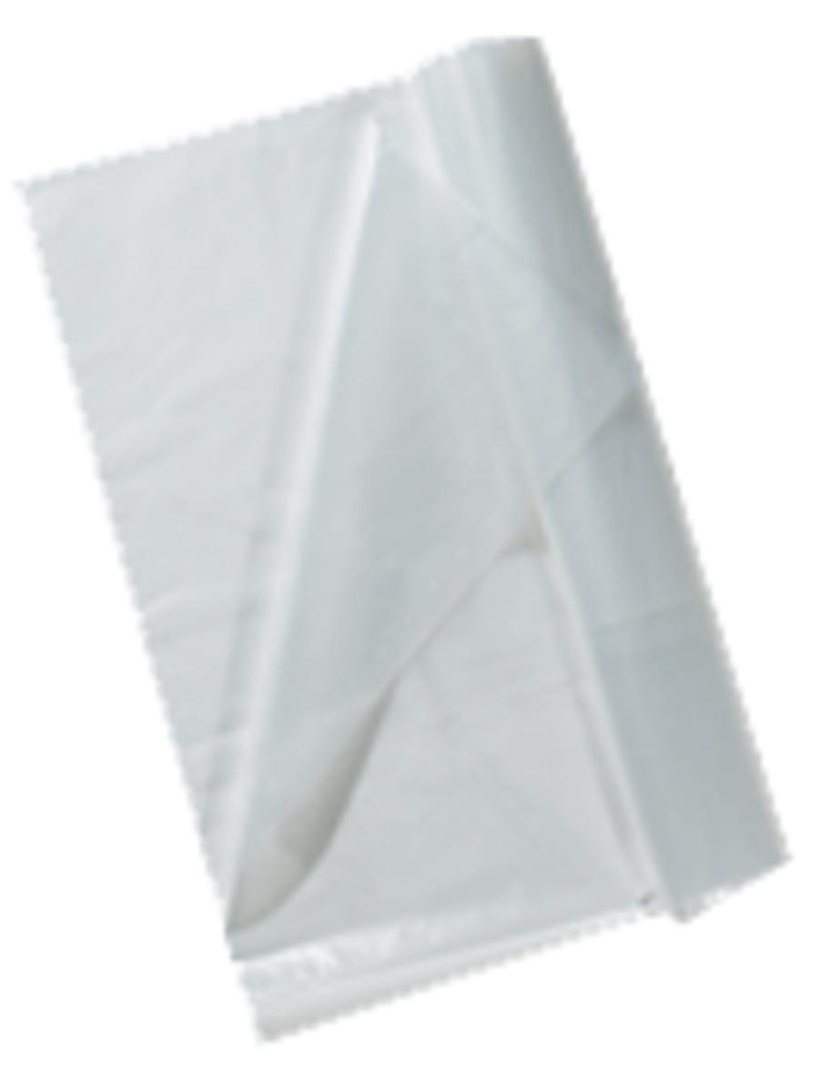Housse de protection pour chariot transparente 180 cm 26 µm (100 pièces)