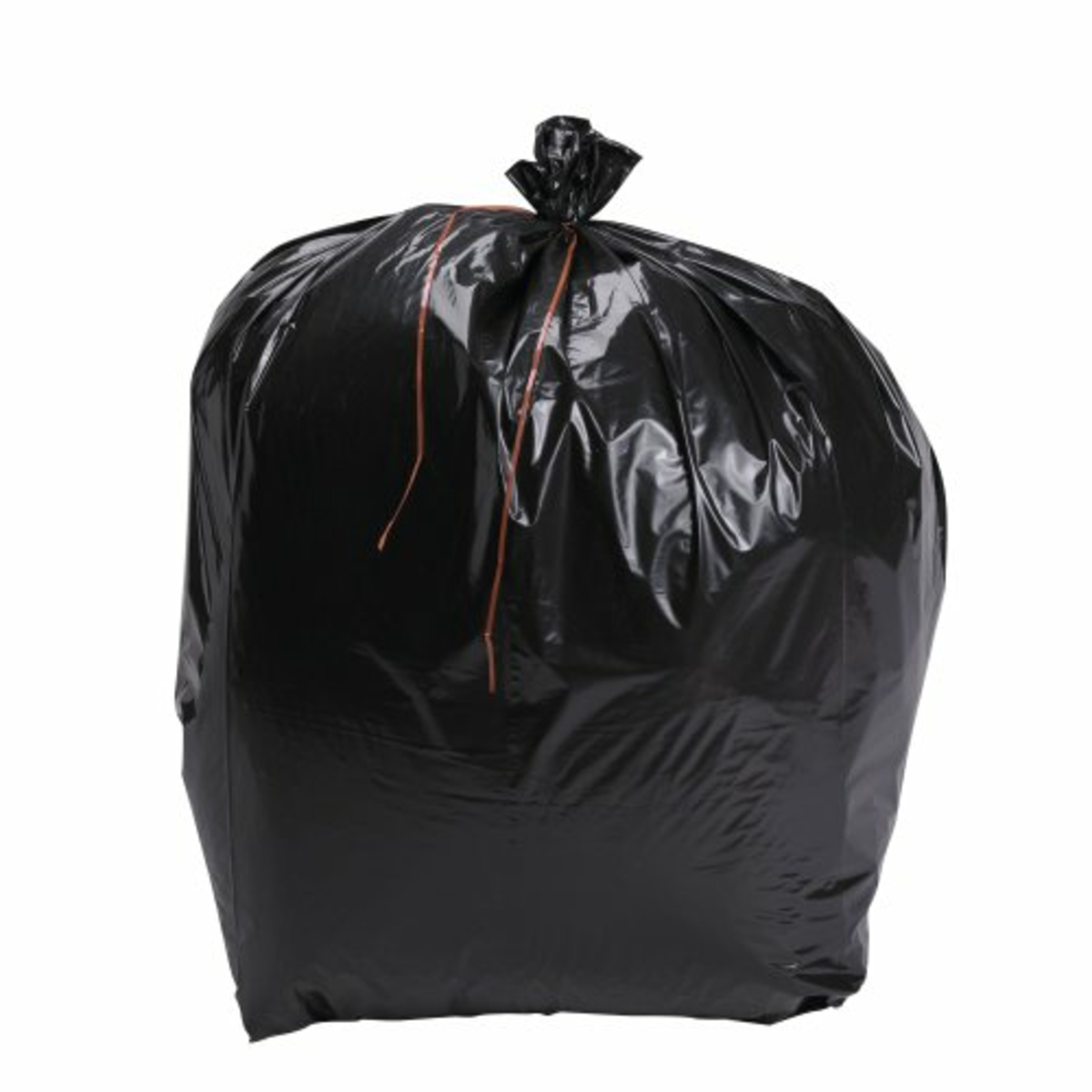Sac à déchets noir 130 l 50 µm (100 pièces)
