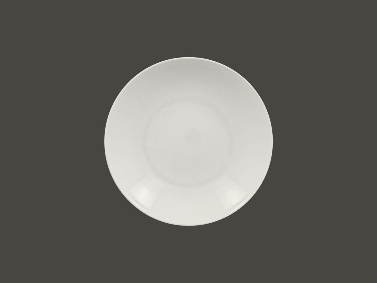 Assiette creuse rond blanc Vintage Rak