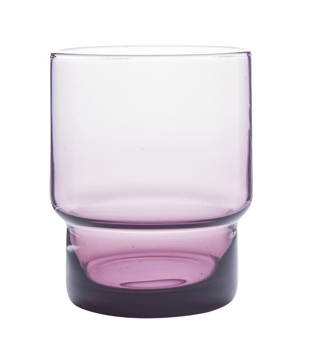 Gobelet forme basse parme 22 cl Artic Essentials Glassware