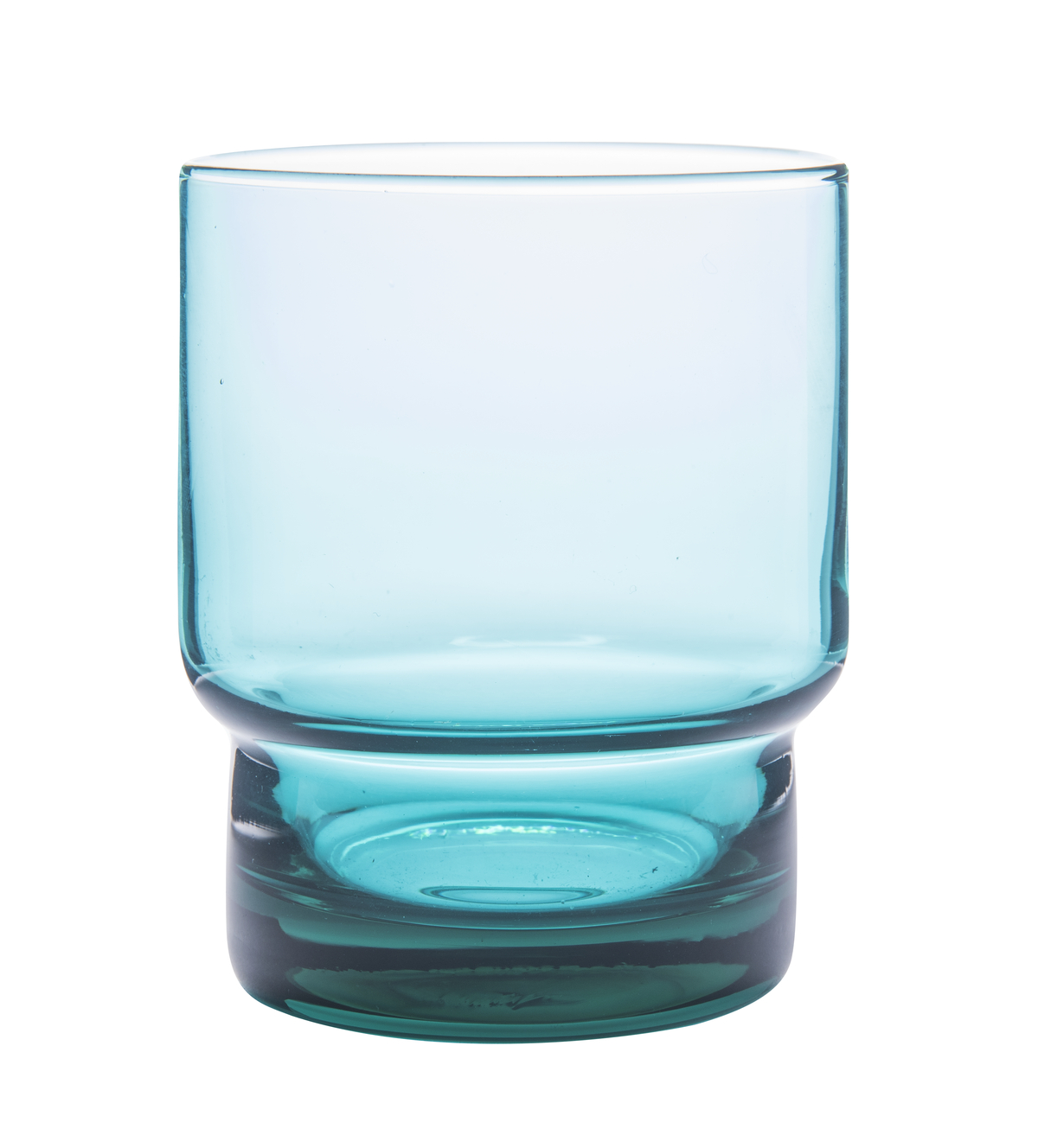 Gobelet forme basse turquoise 22 cl Artic Essentials Glassware