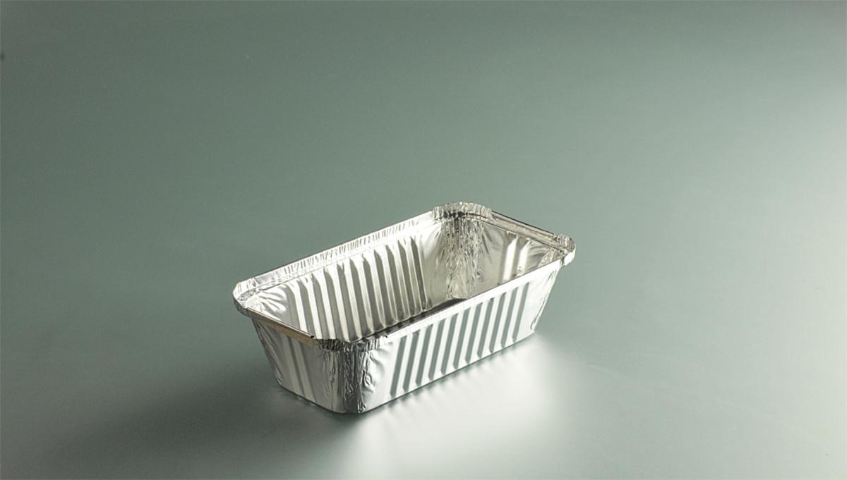 Barquette operculable rectangulaire gris 10,90x20,10 cm 68,50 cl (100 pièces)