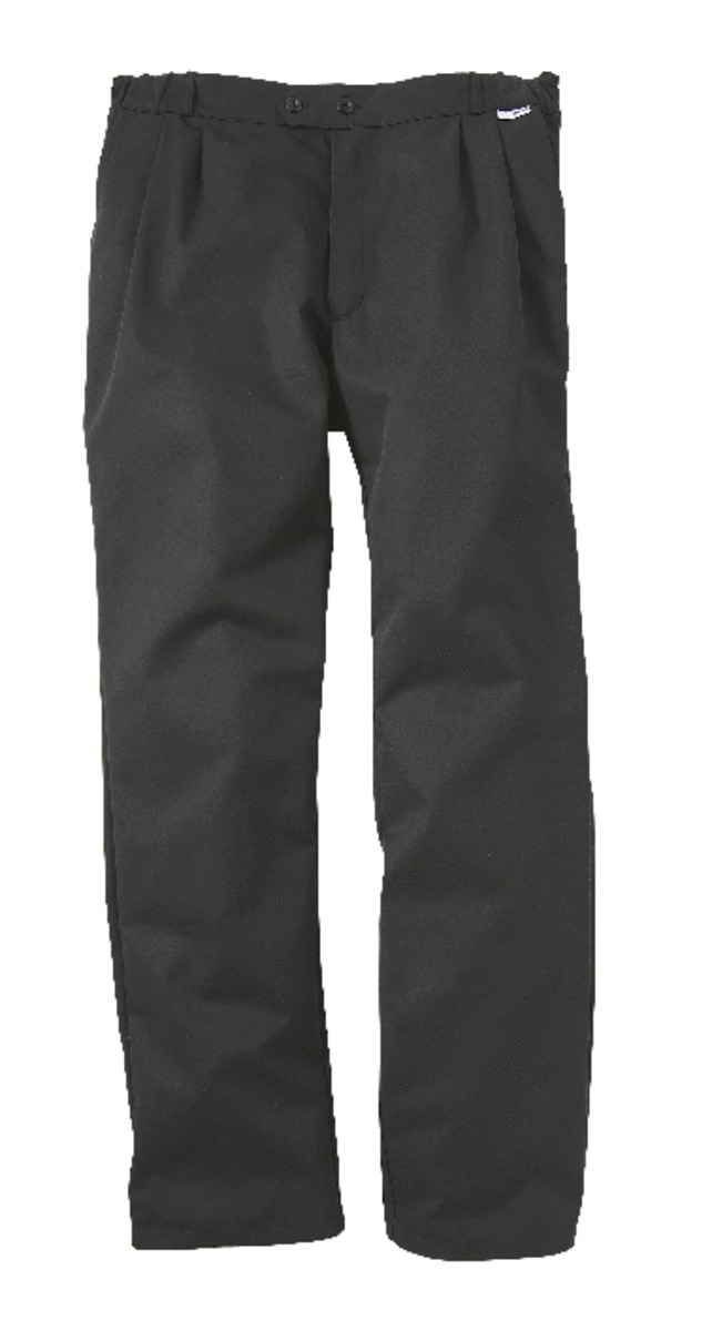 Pantalon de cuisine homme noir taille 40 Pbo3 Molinel