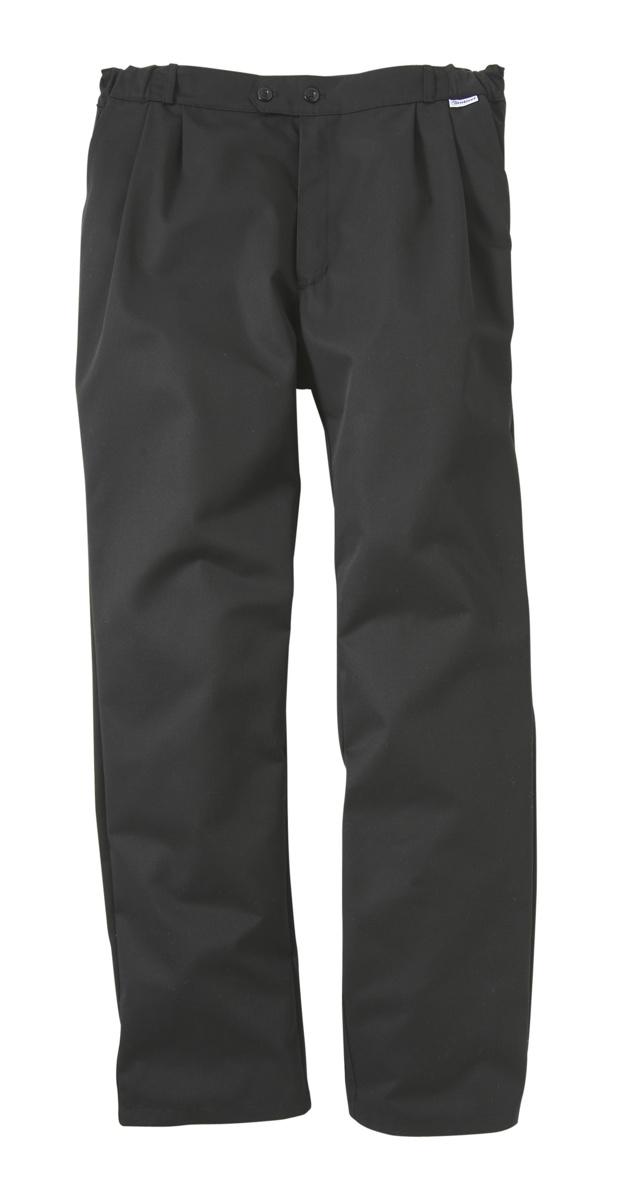 Pantalon de cuisine homme noir taille 42 Pbo3 Molinel