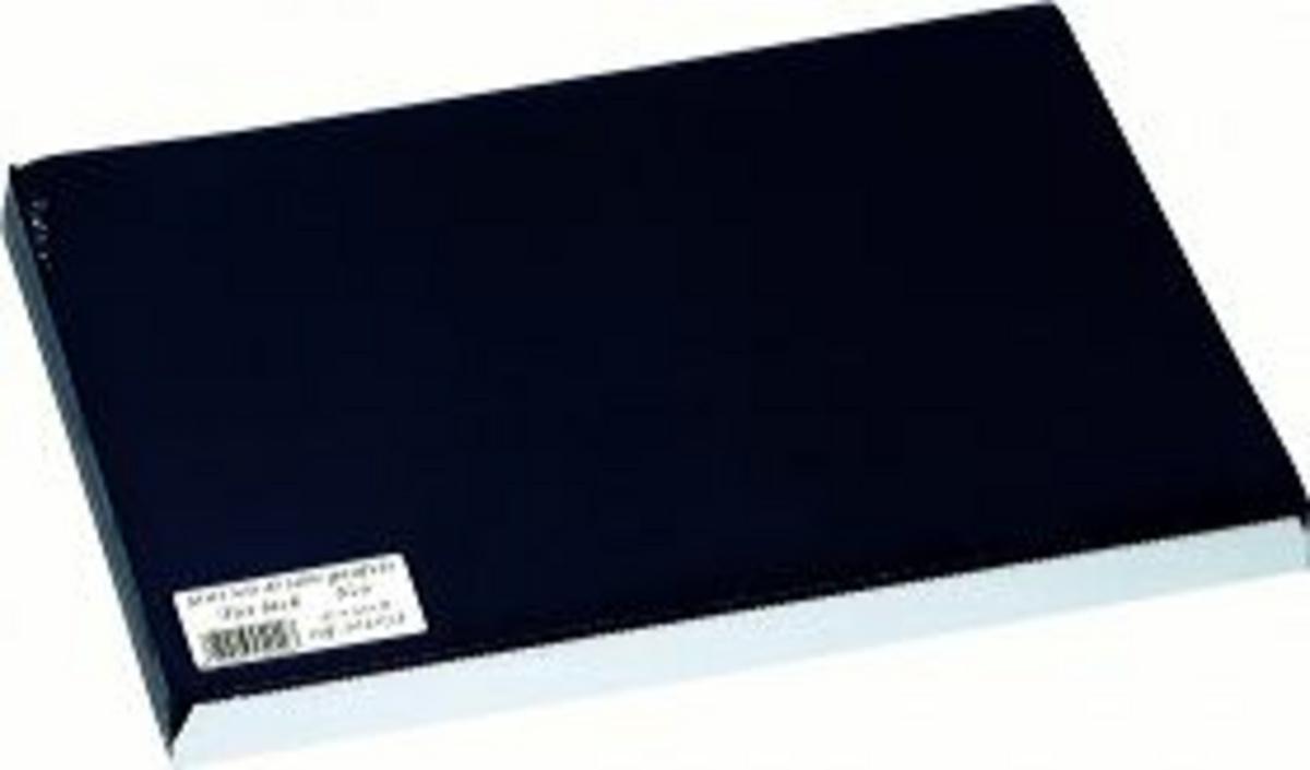 Set de table noir papier 40x30 cm Tisslack Cogir (500 pièces)