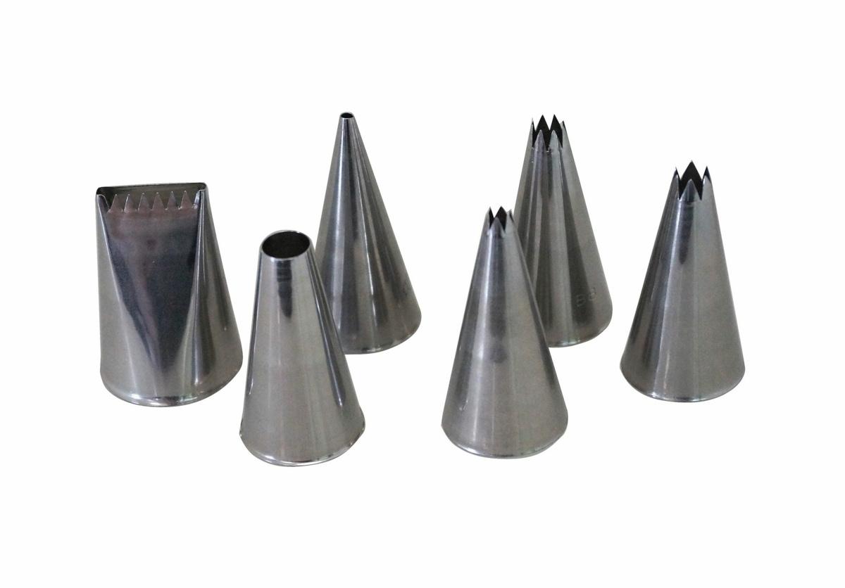 Douille inox 5,20x3,80 cm De Buyer (6 pièces)