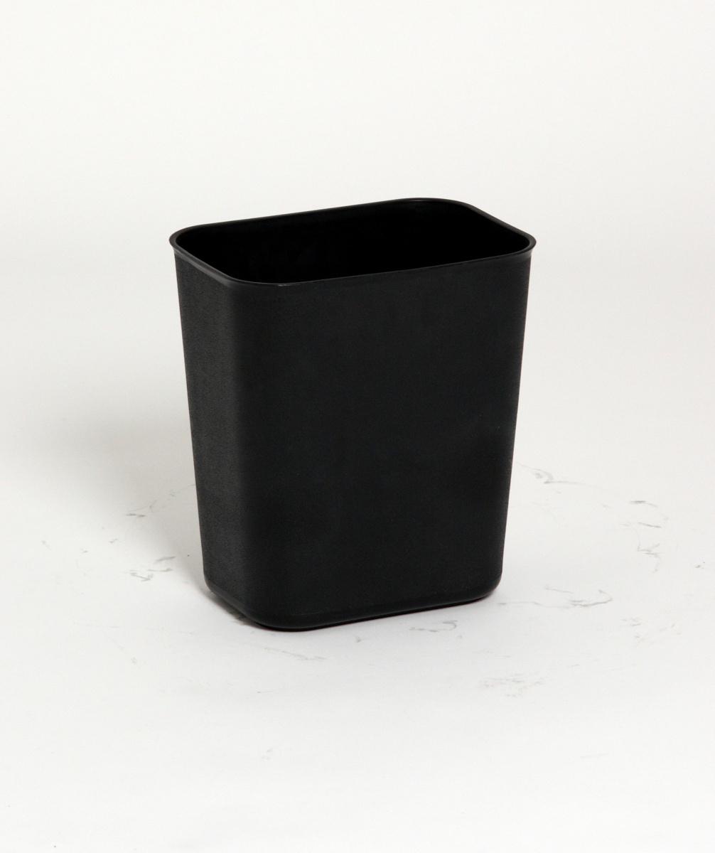 Corbeille rectangulaire noire 13,20 l Probbax