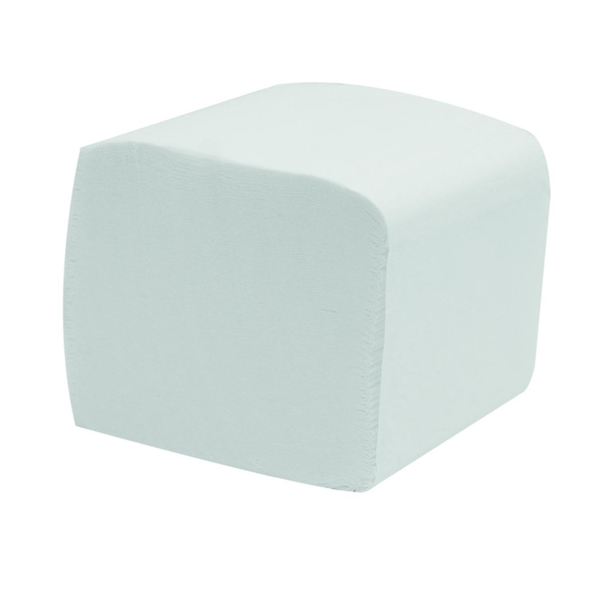 Papier hygiénique blanc ouate de cellulose 19x11 cm Kleaning Essentials (36 pièces)