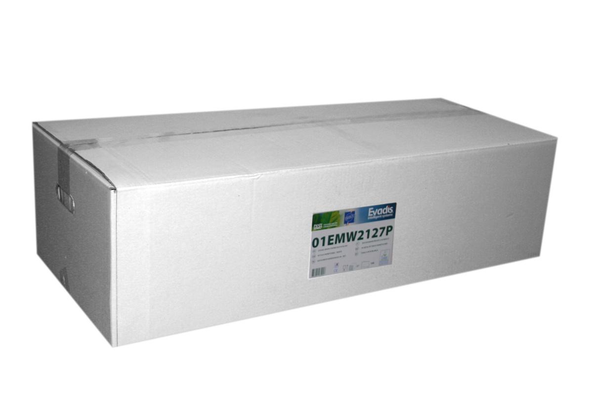 Essuie-main blanc ouate de cellulose 34x21 cm (27 pièces)