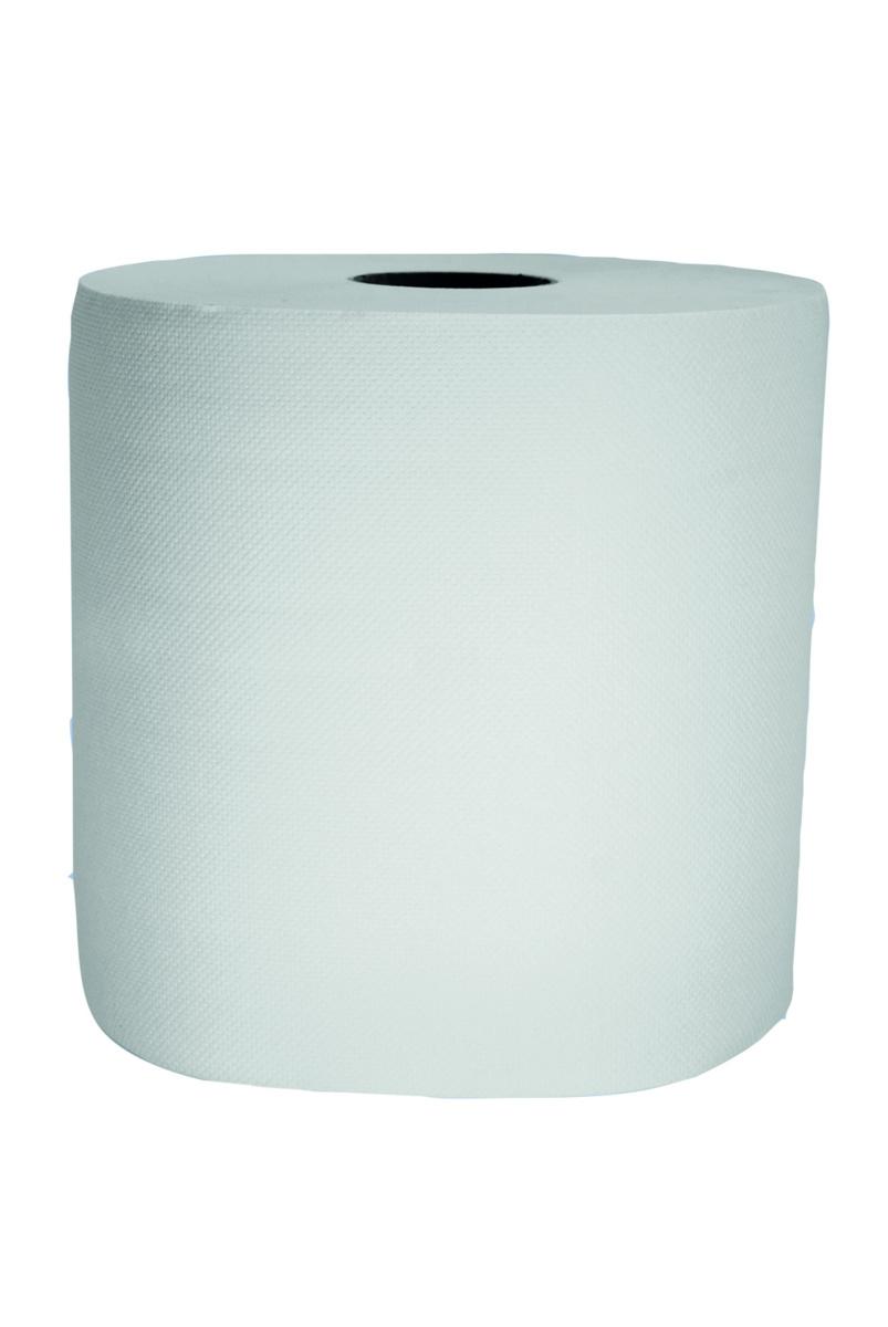 Bobine d'essuyage blanc ouate de cellulose 30x19,40 cm (2 pièces)