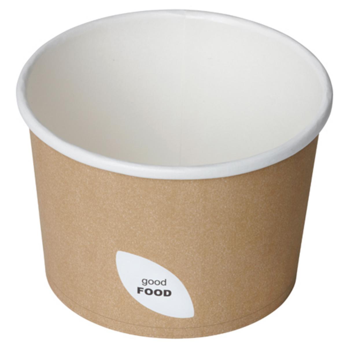 Bol rond beige Ø 11,50 cm 55 cl Duni (50 pièces)