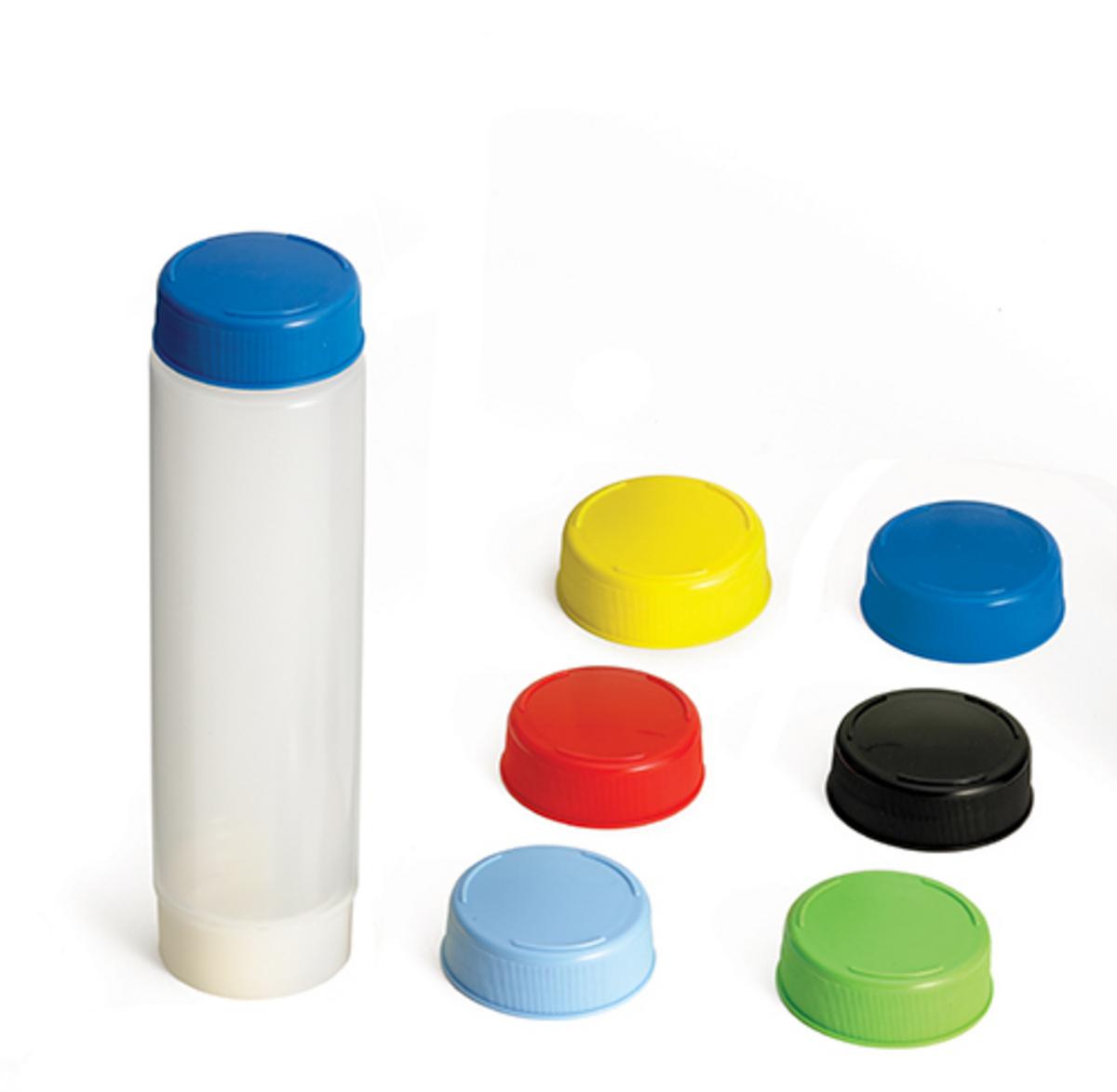 Bouchon rond multicolore plastique Ø 5,57 cm Tablecraft (12 pièces)