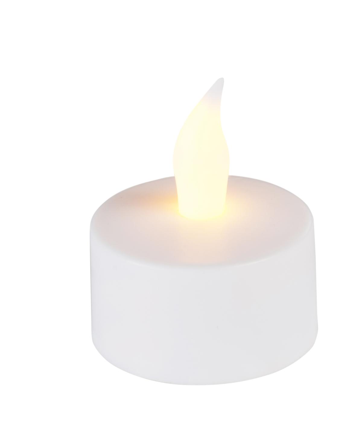 Bougie à led ronde blanc Ø 4,70 cm 3,50 cm (12 pièces)