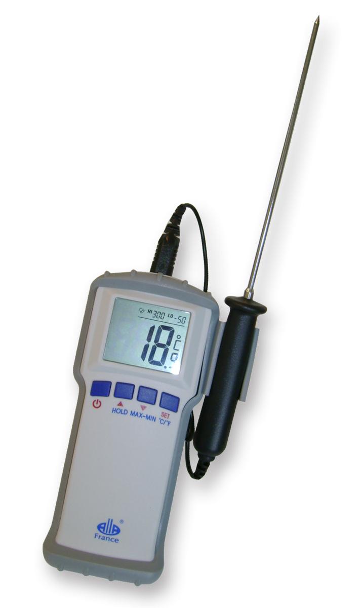 Thermomètre sonde amovible cuisson -50/300 °C +/-0,50°C Alla France
