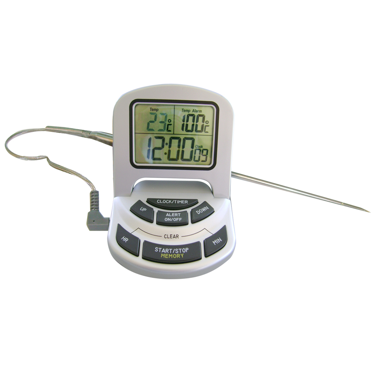Thermomètre digital spécial four cuisson +/-1°C Alla France