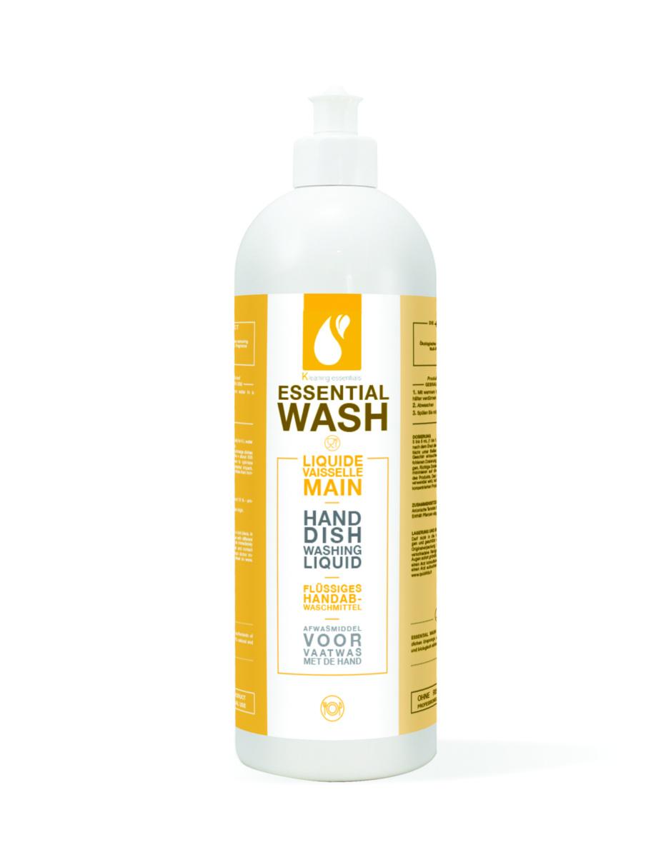 Liquide vaisselle à la main ultra dégraissant 1 l Kleaning Essentials