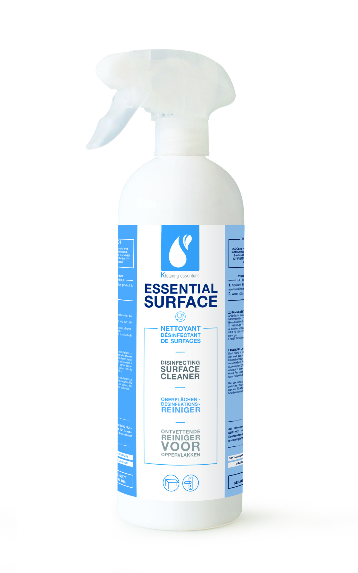 Nettoyant désinfectant 750 ml Kleaning Essentials