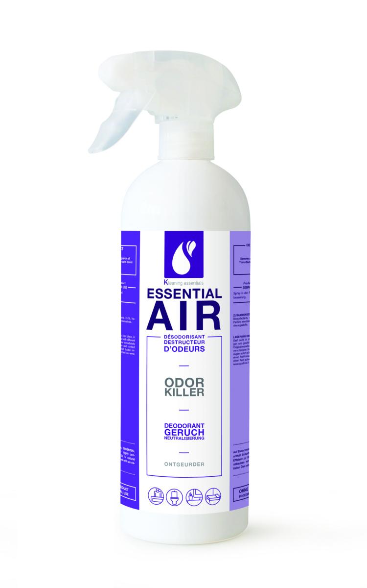 Désodorisant destructeur d'odeur 750 ml Kleaning Essentials