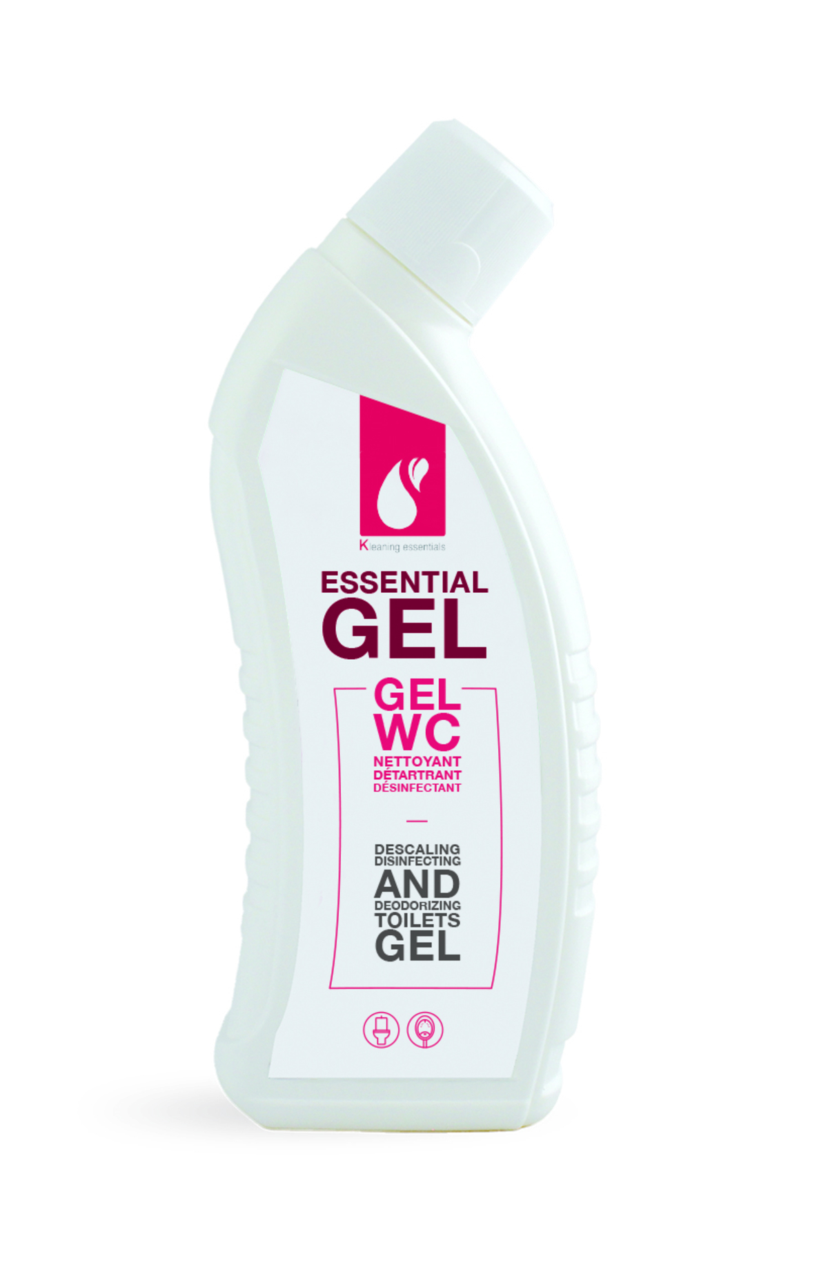 Gel wc détartrant désinfectant désodorisant 750 ml Kleaning Essentials