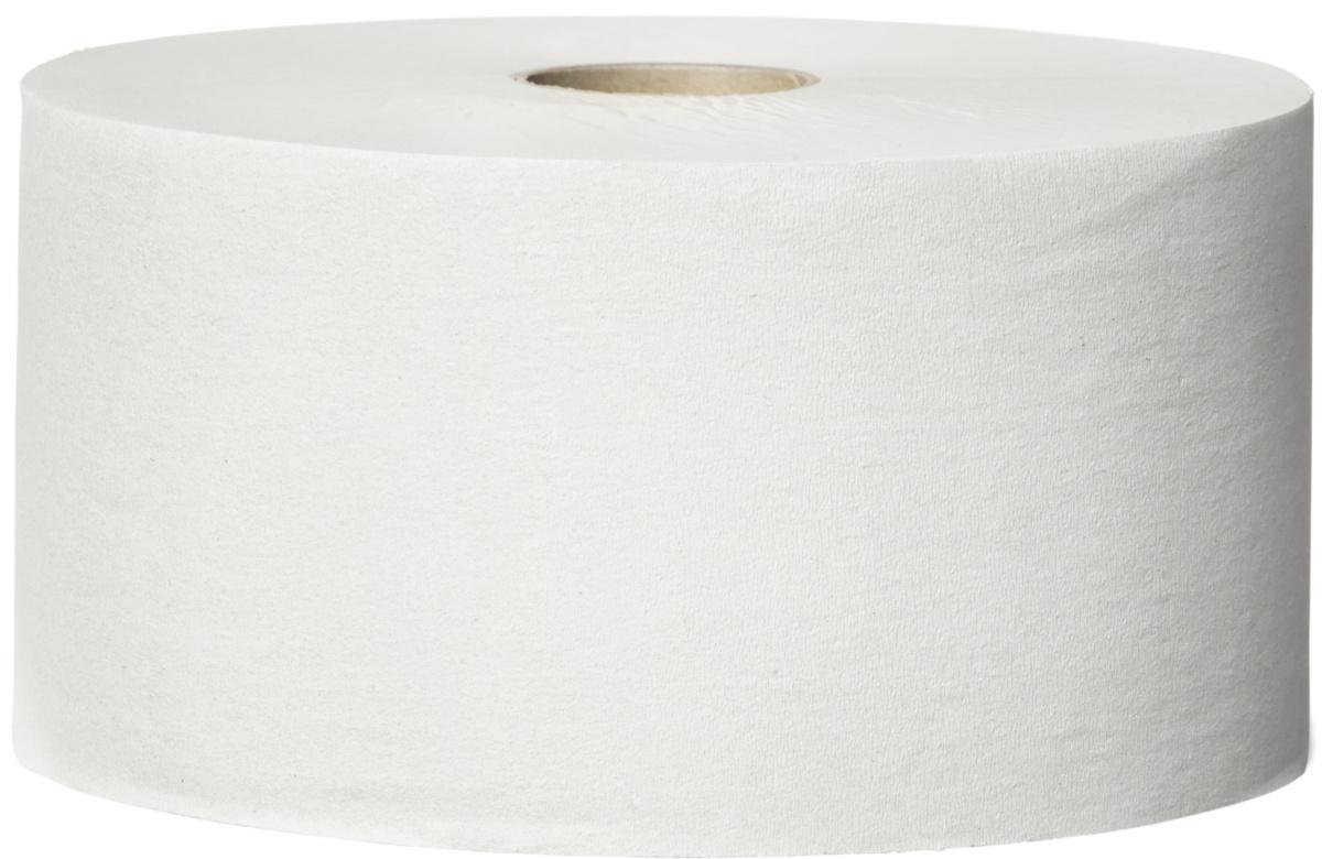 Bobine papier hygiénique blanche ouate de cellulose 20x9,10 cm Tork (12 pièces)