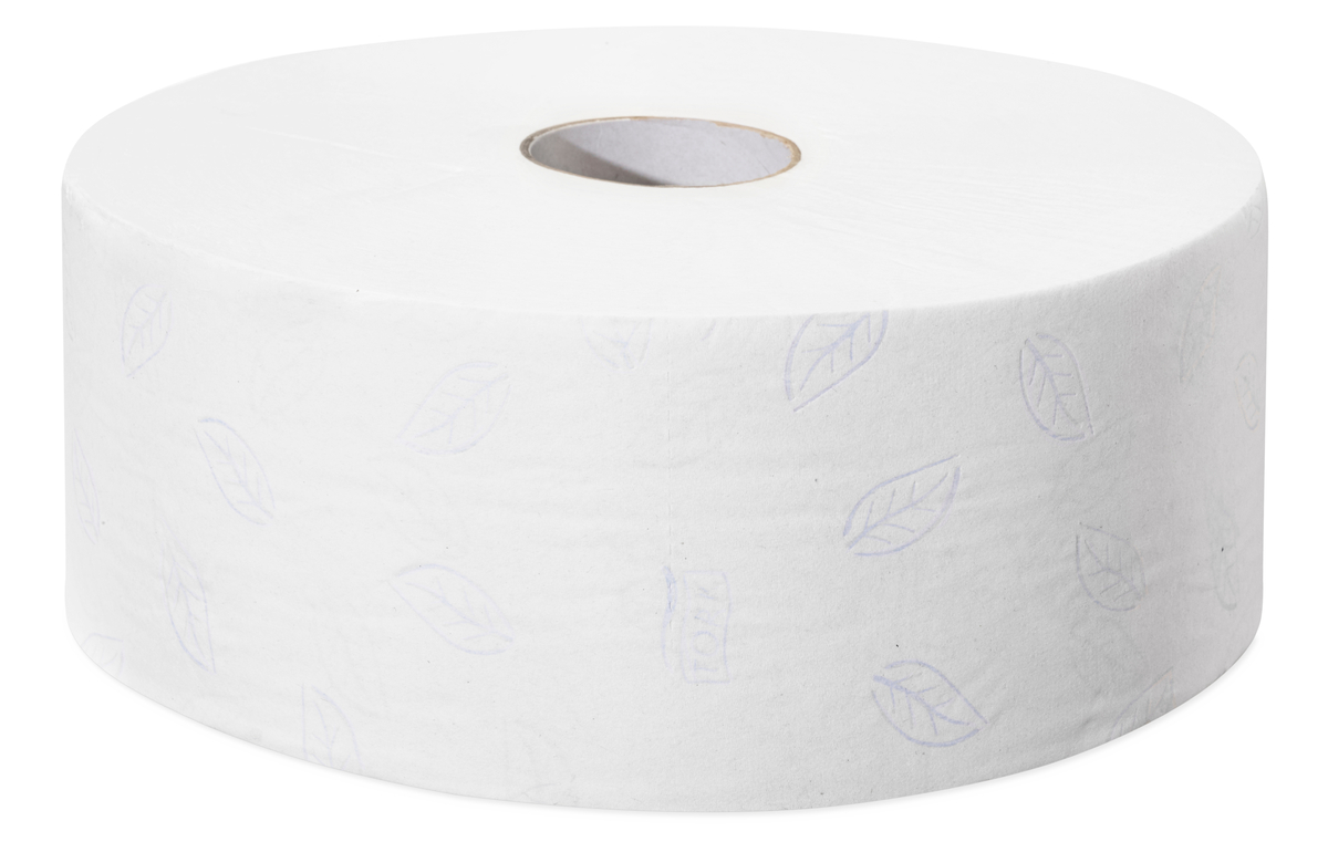 Bobine papier hygiénique blanc ouate de cellulose 8,50x35 cm Tork (6 pièces)