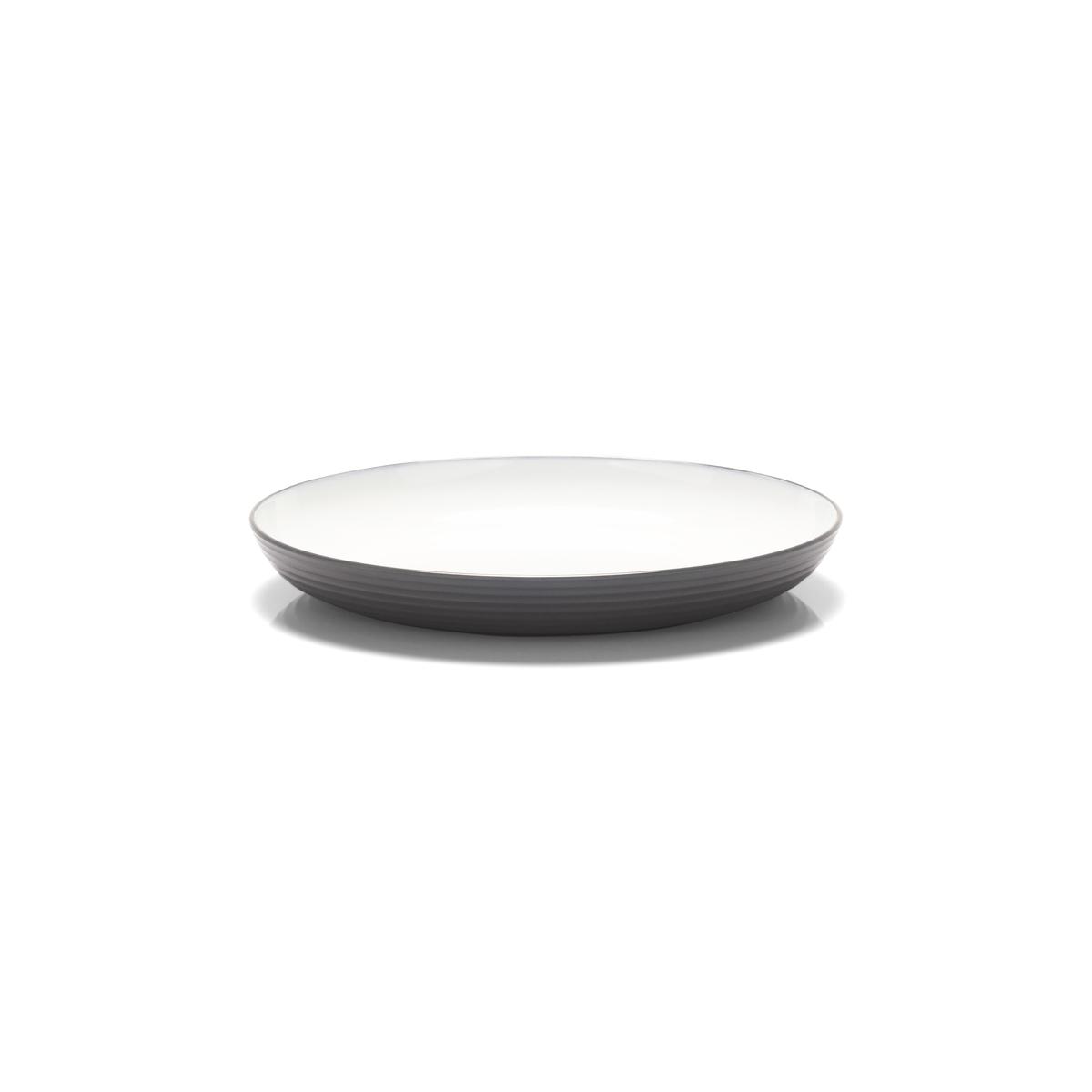 Assiette plate ronde blanc mélamine Ø 22 cm Wave Platex