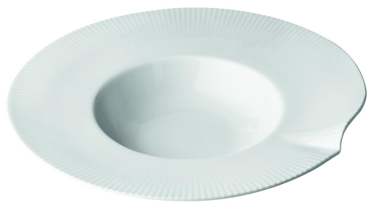 Assiette extra creuse ronde blanc porcelaine Ø 26,50 cm Canopee Pillivuyt