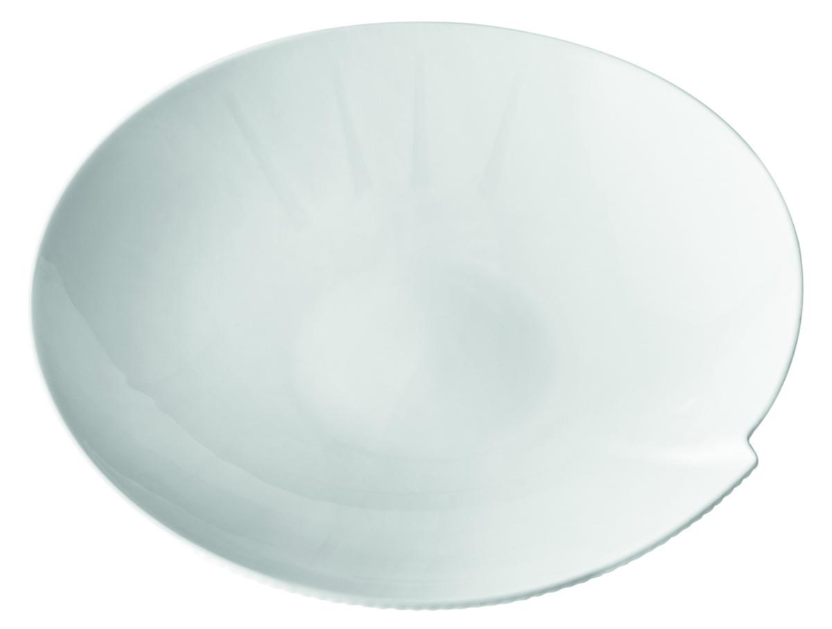 Assiette creuse ronde blanc porcelaine Ø 26 cm Canopee Pillivuyt
