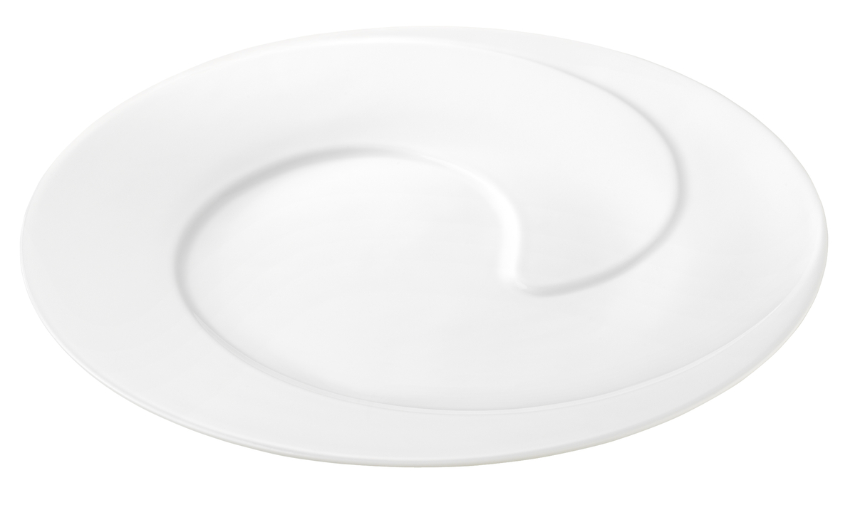 Assiette plate ronde blanc porcelaine Ø 30,80 cm Grand Chef Pillivuyt