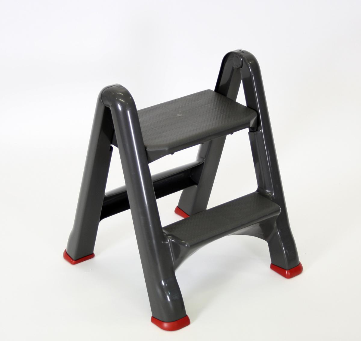 Marche-pied gris 17,20x48,60 cm Rubbermaid