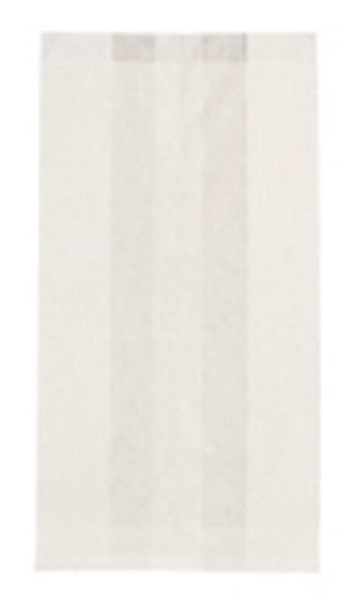 Sac à croissants blanc 27x14 cm (1000 pièces)