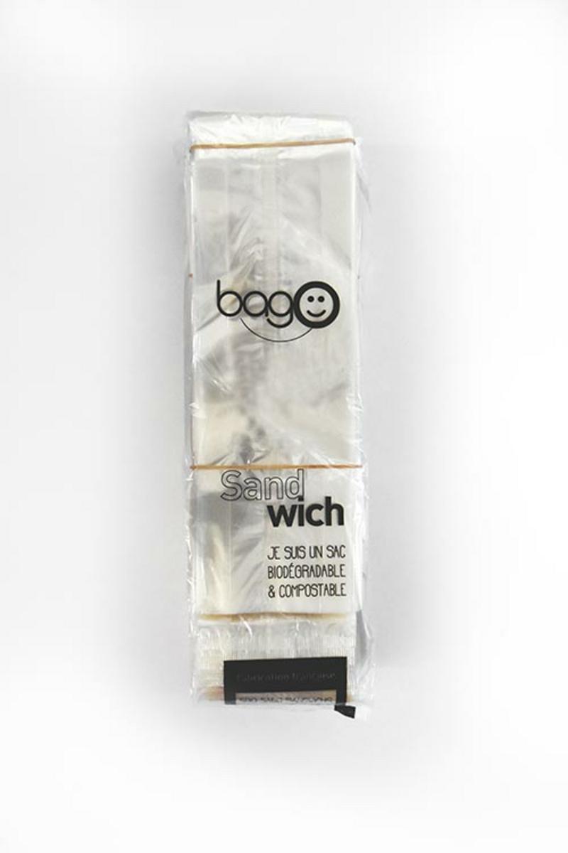 Sac à sandwich transparent 34x10 cm (500 pièces)