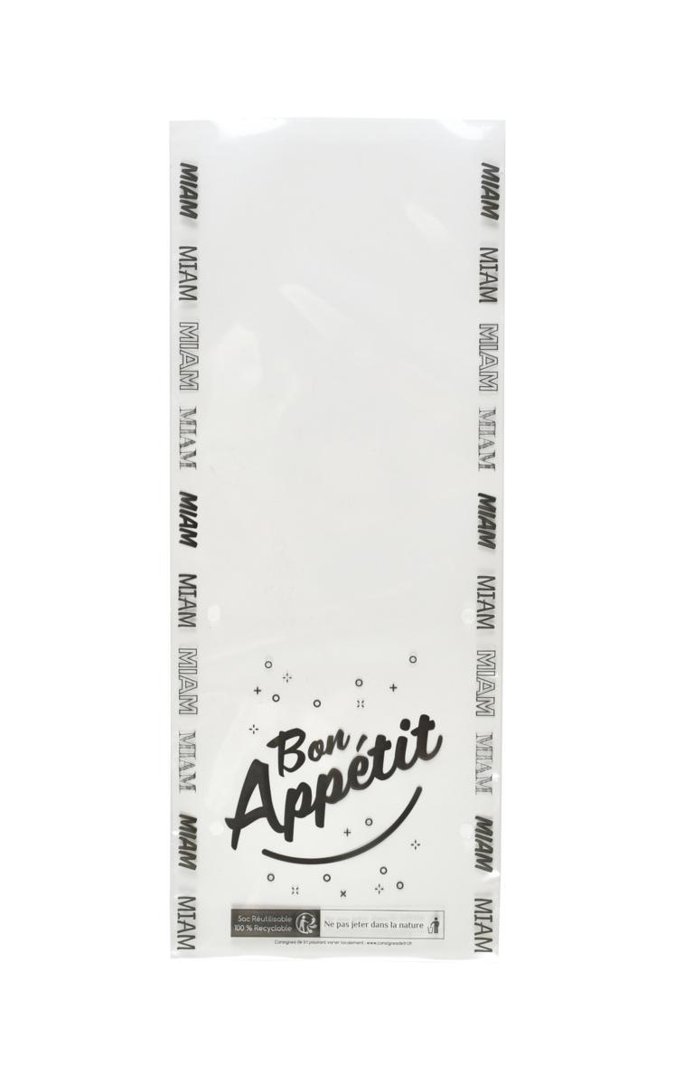 Sac sandwich transparent 35x14 cm (500 pièces)