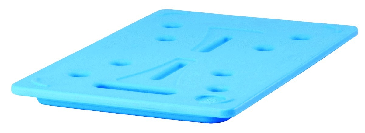 Plaque eutectique gn 1/2 plastique 26,50x32,50 cm Cambro